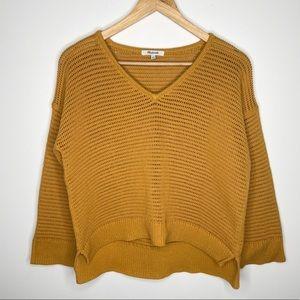 Madewell - Golden Plume Seville Pullover Sweater